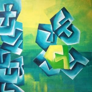 Hide'n'Seek-10_24X24_Acrylic on canvas_25,000 INR