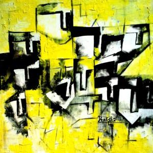 Hide'n'Seek-3_36X36_Acrylic on canvas_40,000 INR