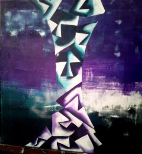 Hide'n'Seek-8_24X24_Acrylic on canvas_25,000 INR