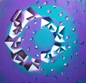 Hide'n'Seek-9_24X24_Acrylic on canvas_25,000 INR