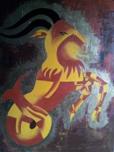 Zodiac CAPRICORN 30x40Acrylic on canvas 35,000 INR