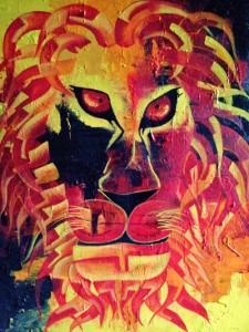 Zodiac LEO 30x40 Acrylic on canvas 35,000 INR